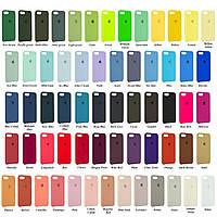 Чехол накладка Silicone Case iPhone 5/5s/5SE