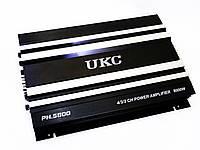 Автомобильный усилитель звука UKC PH.5800 4-х канальный 8000W Black (4_00531), фото 1