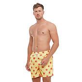 Мужские шорты купальные пляжные Yellow Stars