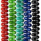 Бусины Капли Средние, Цвет: Бирюзовый, Размер 14 мм, Бирюза Синтетическая, Рукоделие, Фурнитура Бижутерия, фото 6