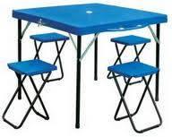 Складные стулья и стол для пикника