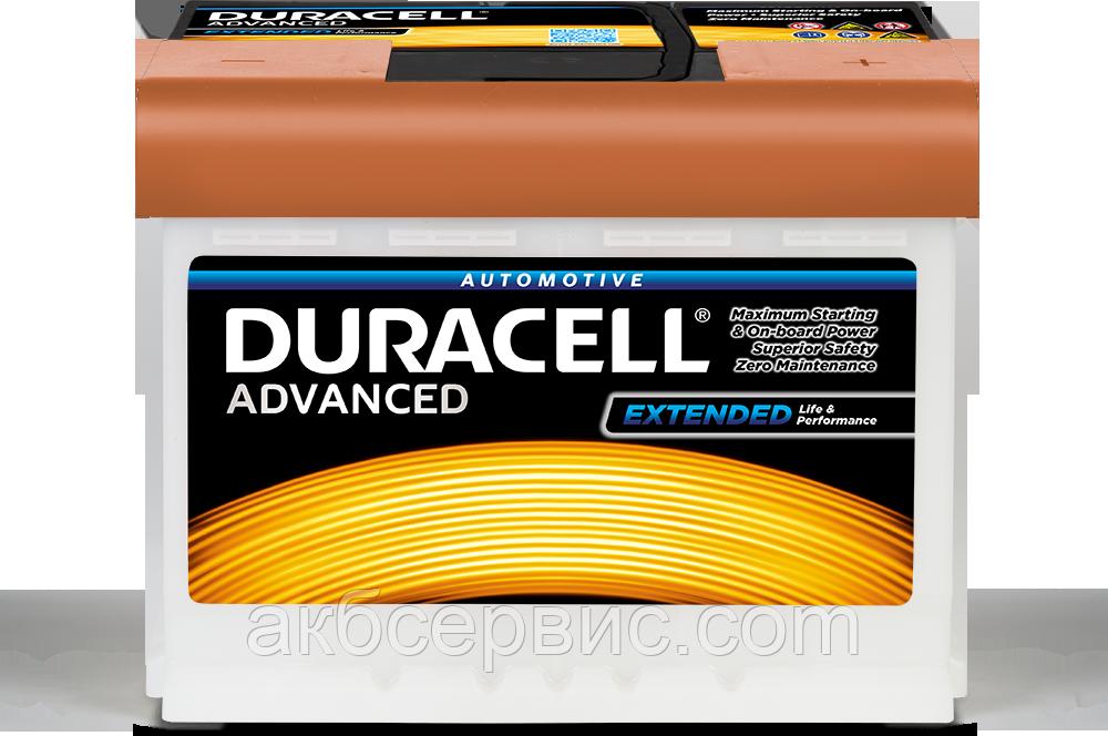 Аккумулятор автомобильный Duracell HUK027 Advanced (DA63H)