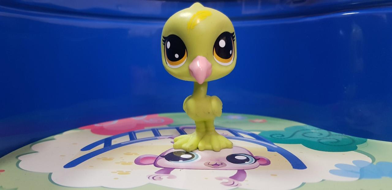 Littlest pet shop lps іграшка Hasbro лпс пет шоп фламінго