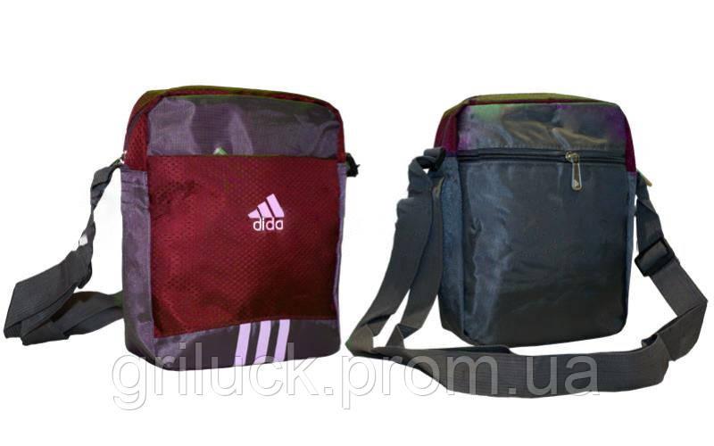 Маленькая мужская сумка через плечо для документов Mini bag Adidas -  Интернет магазин