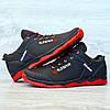 Кроссовки мужские черные прошитые (Кф-19-3), фото 5