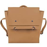 Сумка-рюкзак женская Fashion трансформер коричневая 408478Br, фото 1