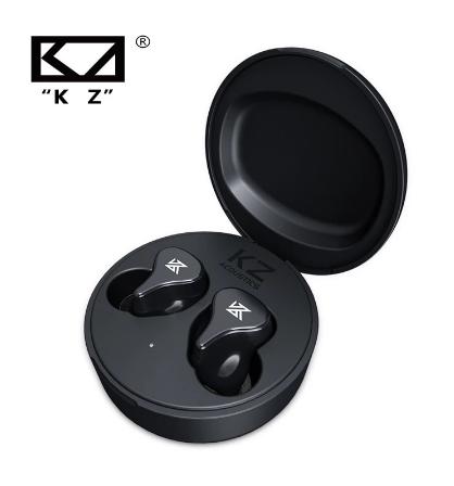 Беспроводные TWS наушники KZ-Z1 Pro bluetooth V 5.2 с динамическим драйвером 10 мм чип QCC3020