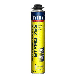 Tytan Styro 753 клей-піна для теплоізоляції під пістолет 750мл