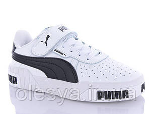 Модные кроссовки унисекс, подростковые демисезонные Puma Размеры 34, 35,