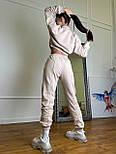 Молодіжний спортивний костюм жіночий з укороченим худі, фото 6