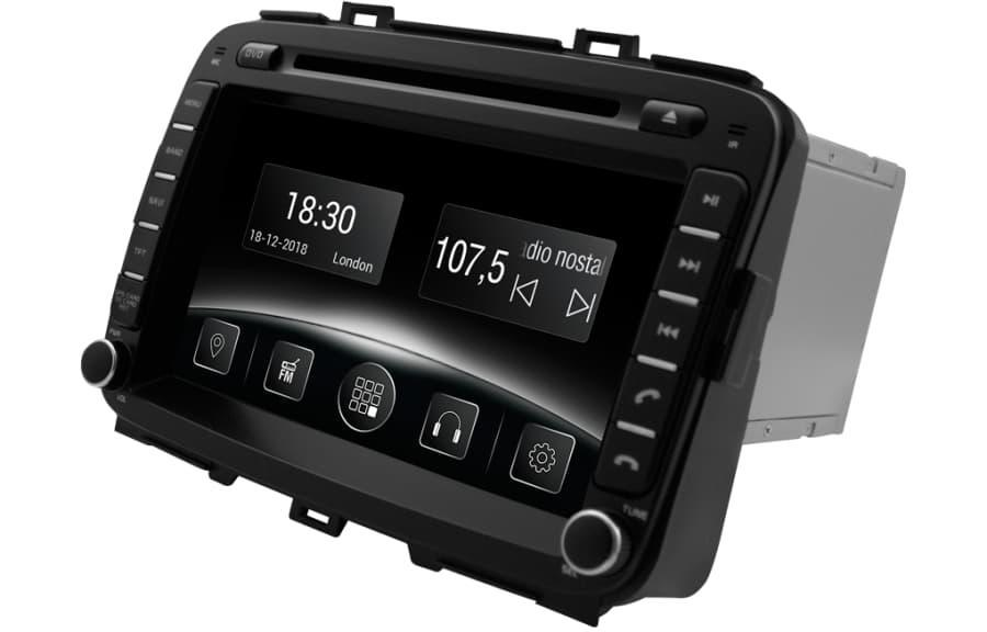 Автомагнитола Gazer CM6008-RP Kia Carens (FG) (2013-2017) (Р25449)