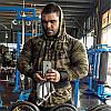 """Реглан чоловічий спортивний з капюшоном """"GASP"""", фото 3"""