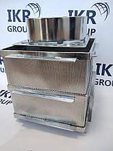 Форма для сыра из нержавеющей стали, квадратная 6-8 кг/ Форма для сиру із нержавіючої сталі 6-8 кг