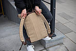 Роллтоп рюкзак мужской DEZERT из брезента canvas WLKR, фото 7