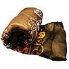Одеяло атласное Lotus flower холлофайбер 175/210 коричневое вензель