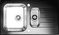 Кухонная мойка Alveus Glassix 20 черное стекло 1100015