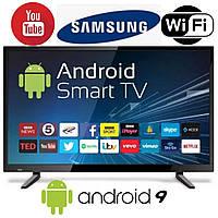 Телевізор зі смарт 4к Wi-Fi Samsung Smart Android Tv Телевизор Смарт Самсунг Гарания 2 года