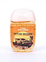 Антисептический гель для рук 29 мл ТМ Wash your body, AMG Boss, мужской аромат
