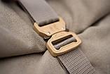 Роллтоп рюкзак мужской DEZERT из брезента canvas WLKR, фото 5