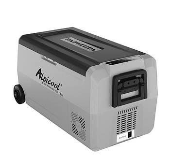 Компрессорный автохолодильник Alpicool T36.  Режим работи +20℃ до -20℃  (двухкамерный) 12/24/220V