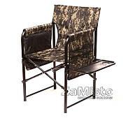 Кресло складное Vitan Режиссер Эконом с полкой 25 мм (камуфляж)