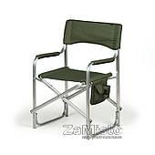 Кресло складное Vitan Режиссер Алюм без полки 20 мм (черный)