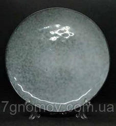Тарелка большая обеденная керамическая Гранит 27 см