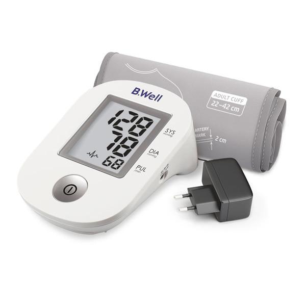 Тонометр автоматический с адаптером и манжетой 22-42 см PRO-33 B.Well