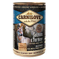 Консерва для собак Carnilove Salmon & Turkey 400 г (лосось и индейка)