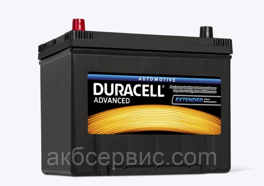 Аккумулятор автомобильный Duracell Advanced (DA70L)
