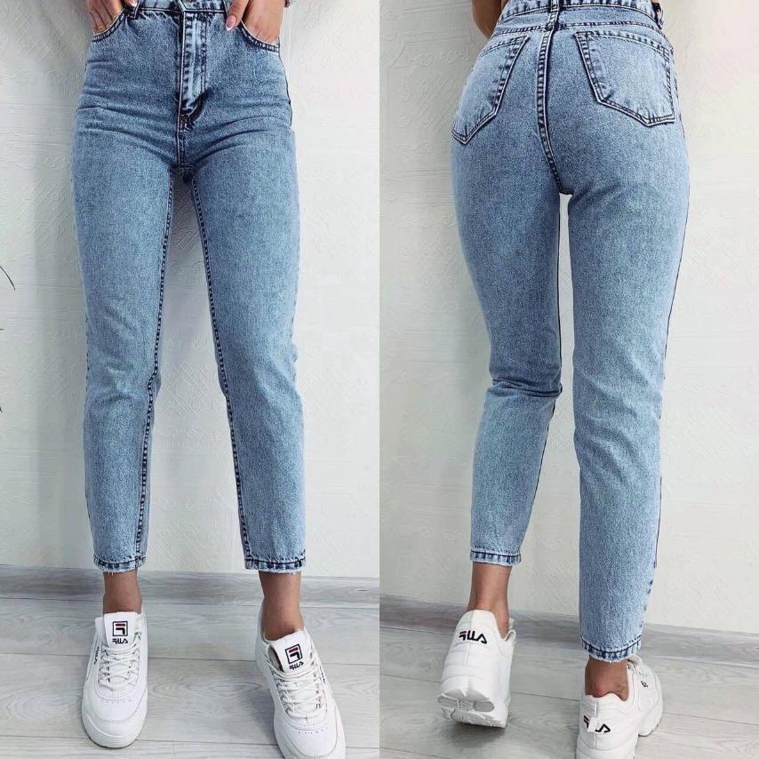Женские джинсы МОМ, размер 25, 26, 27, 28, 29, 30, 31. Ткань: джинс, не тянутся. Производство Турция.