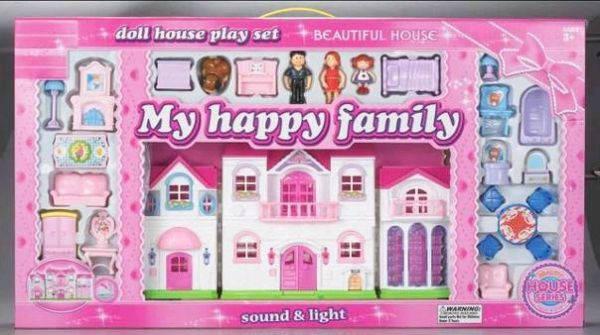 Домик для кукол с мебелью арт.8124, фото 2