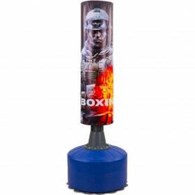 Мешок боксерский напольный водоналивной TERMINATOR HJ-G073-T (верх-PVC, р-р 175смx60см (110смx32см))