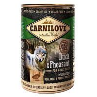 Консерва для собак Carnilove Duck & Pheasant 400 г (утка и фазан)