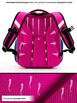 Шкільний ранець для дівчинки 1-3 клас з пеналом і сумкою для взуття Мишка Winner One 6010 29*36 см, фото 3