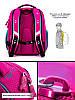 Шкільний ранець для дівчинки 1-3 клас з пеналом і сумкою для взуття Мишка Winner One 6010 29*36 см, фото 4