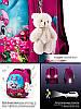 Шкільний ранець для дівчинки 1-3 клас з пеналом і сумкою для взуття Мишка Winner One 6010 29*36 см, фото 6