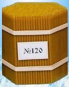 Свечи восковые церковные №120 600 штук упаковка