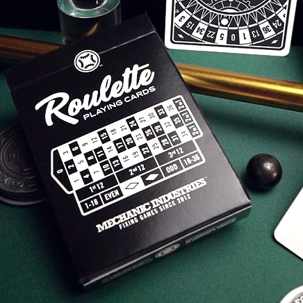 Карты игральные | Roulette Playing Cards by Mechanic Industries