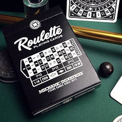 Карти гральні | Roulette Playing Cards by Mechanic Industries