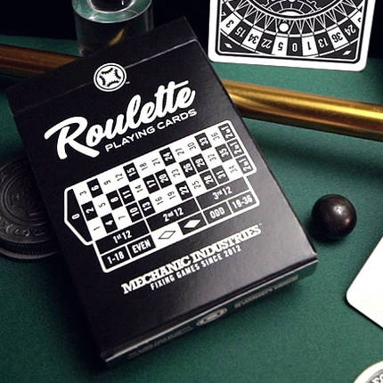 Карты игральные | Roulette Playing Cards by Mechanic Industries, фото 2