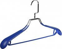 Плечики для верхней одежды с ПВХ покрытием 44 см