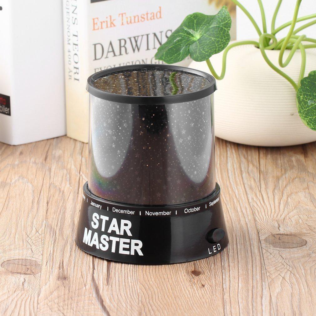 Проектор зоряного неба Star Master Чорний