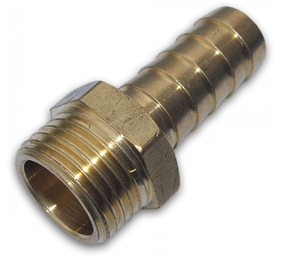 "GEKA Адаптер с ниппелем на шланг 32 мм, РЗ 1""  - латунь, GK78/6SK"