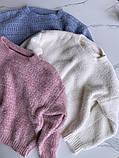 Женский стильный, мягкий, шерстяной свитер, фото 9