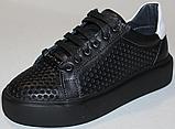 Кроссовки детские из натуральной кожи от производителя модель ДЖ70062-3, фото 2