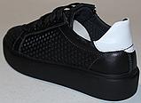 Кроссовки детские из натуральной кожи от производителя модель ДЖ70062-3, фото 4