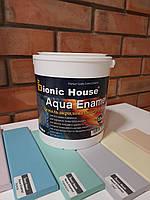 Aqua Enamel. Акриловая эмаль универсальная. Эмаль для дерева, металла и минеральных поверхностей