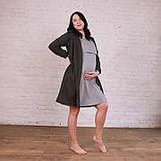 Комплект 2в1 халат, нічна сорочка для вагітних