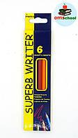 Цветные карандаши Marco Superb Writter, 6 цветов